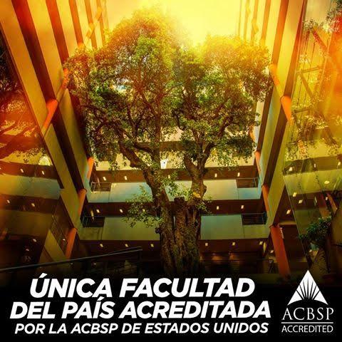 Única Facultad del país acreditada por la ACBSP de Estados Unidos